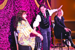 Magic couple takes audience across the globe with 'Carnival of Illusion'