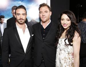 Joshua Sasse, Marton Csokas and Leah Gibson of DirecTV's 'Rogue'