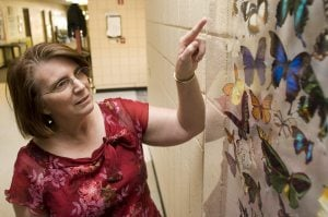 Butterfly garden will be school's living classroom