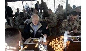 Cheney visits Iraq; attacks kill 19