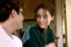 "<p>This image released by Warner Bros. Pictures shows Joaquin Phoenix, left, and Mara Rooney in a scene from ""Her."" (AP Photo/Warner Bros. Pictures)</p>"
