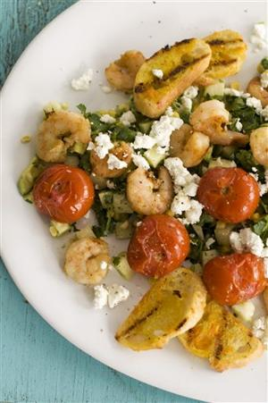 Food-Grilled Shrimp Salad