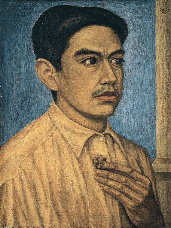 Feliciano Pena Autorretrato