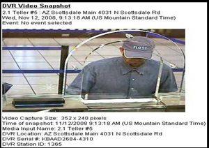 Scottsdale police seek bank robber