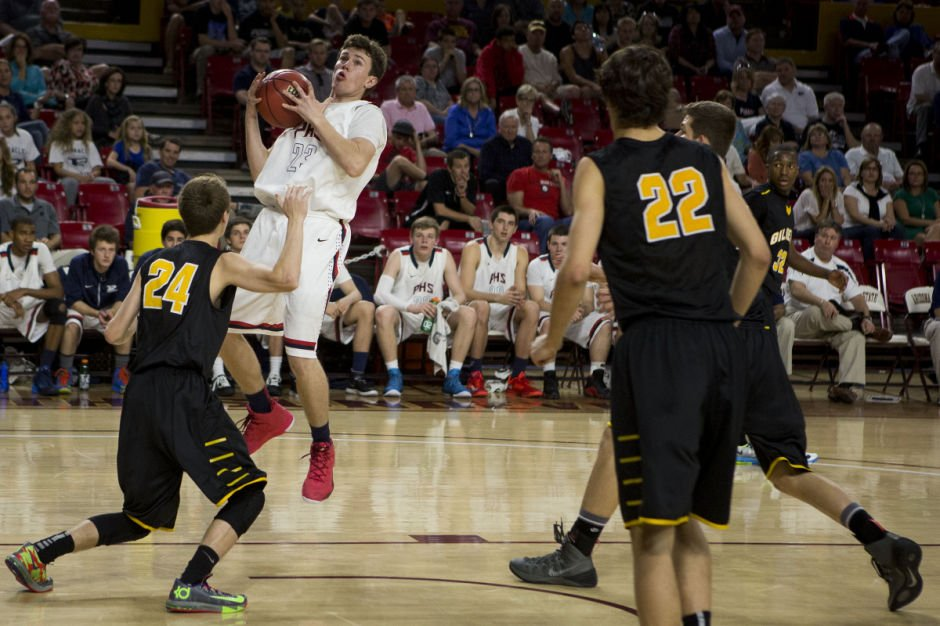 Boys high school Basketball: Gilbert vs. Pinnacle