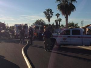 Oven fire leaves three displaced; no injuries reported