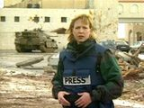Wounded CBS journalist thanks military