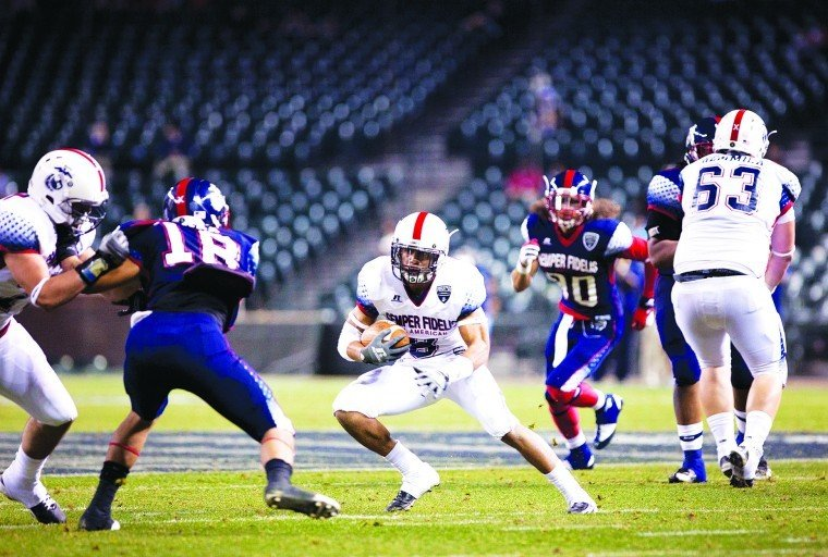 West defeats East, 17-14, in inaugural Semper Fidelis All-American Bowl