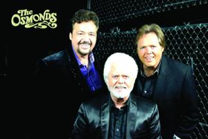 Jay, Merrill and Jimmy Osmond