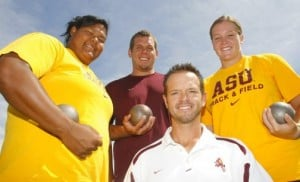 Throwers hold ASU's track hopes in their hands