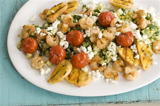 Food-Grilled Shrimp Salad