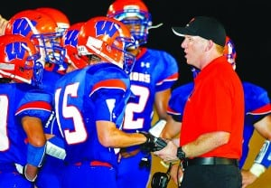 Q & A with Westwood football coach Stowers