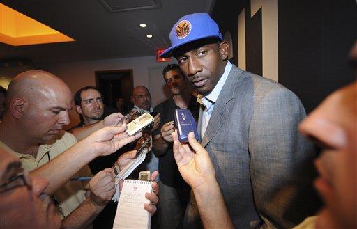 Knicks Stoudemire Basketball