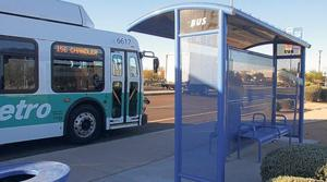 Bus routes in Gilbert add 26 new shelters