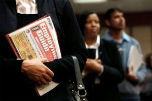 Productivity gains bad news for job seekers