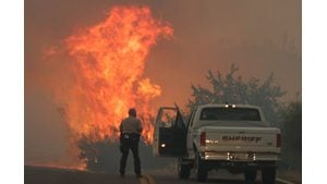Arizona wildfires echo U.S. trend