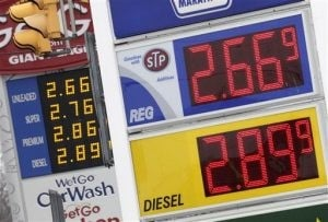 Gas expected to top $3 a gallon by summer