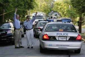 3 dead, 2 hurt in Ga. shooting; professor sought