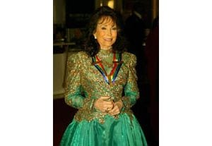Loretta Lynn honored at Kennedy Center