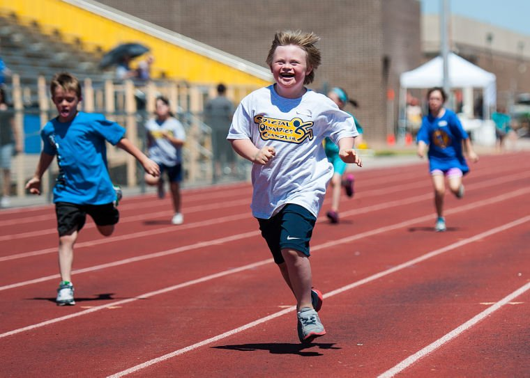 Special Olympics East Valley Regional Track Meet