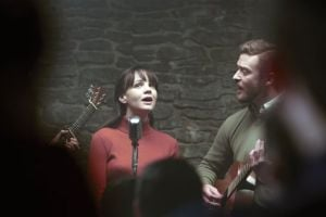 "<p>This film image released by CBS FIlms shows Carey Mulligan, left, and Justin Timberlake in a scene from ""Inside Llewyn Davis."" (AP Photo/CBS FIlms, Alison Rosa)</p>"