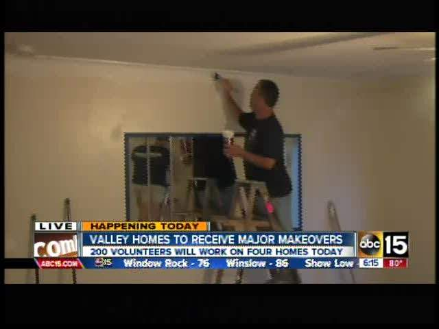 Valley homes get makeovers thanks to Papa Murphy's
