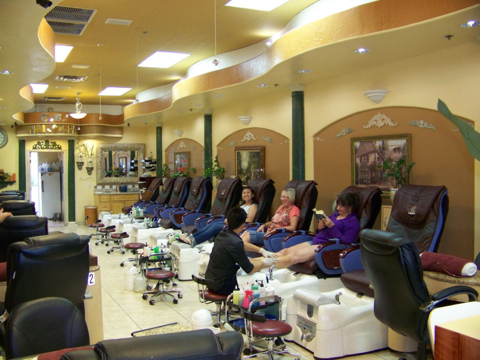 Best of Mesa 2014 Nail Salon: O.B.I. Nails & Spa