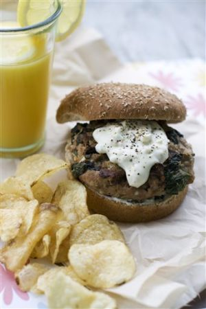 Food-Healthy-Turkey Burger