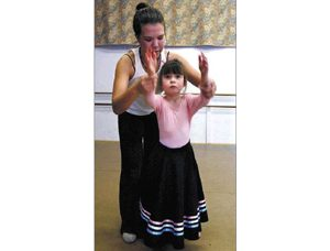 Visually impaired ballerinas spin into the spotlight