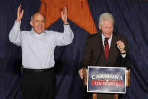 Richard Carmona, Bill Clinton