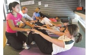 SCC trains teachers to be healthy examples