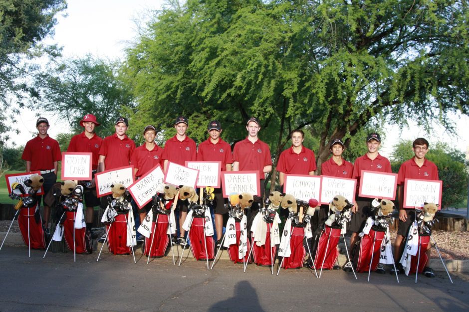 Red Mountain HS boys golf