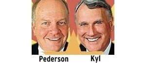 Pederson catching up to Kyl 
