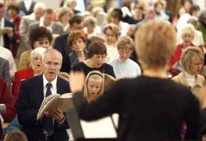 Churches host events where everyone is welcome to be heard