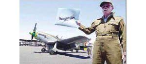World War II pilot enjoys hop in vintage plane