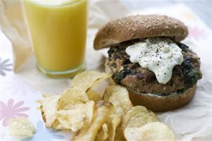 Food-Healthy-Turkey Burger