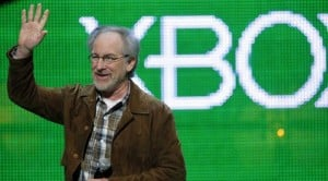 Spielberg unveils motion control for Xbox 360