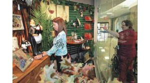 Gift store provides 'shopping therapy'