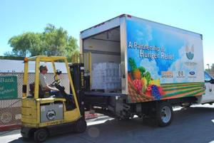 Ford truck donated to United Food Bank