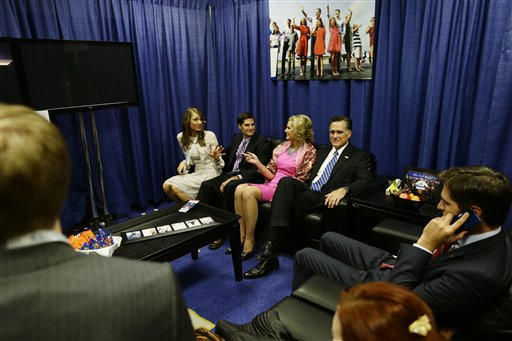 MItt Romney, Ann Romney, Matt Romney, Laurie Romney