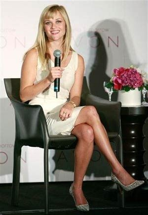 Witherspoon is Avon's global ambassador
