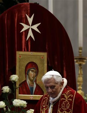 Vatican Pope Knights of Malta