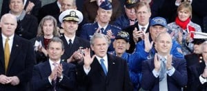 Bush honors veterans at aircraft carrier Intrepid