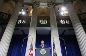 Obama: No more bailouts for Wall St. titans