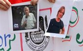 Video of kidnapped journalists released 
