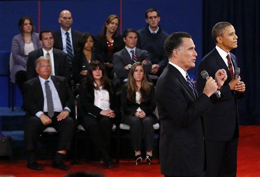 Mitt Romney, Barack Obama