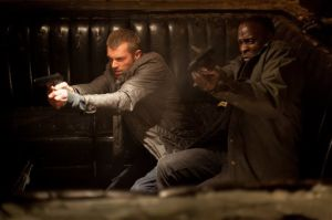 Joel Kinnaman, Michael K Williams