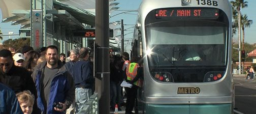 VIDEO: Light rail officially open to public
