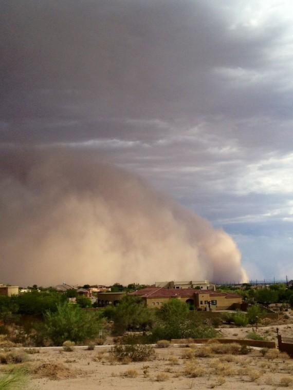 Dust Storm -- Las Sendas