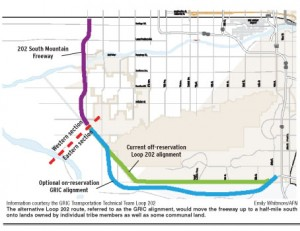 Loop 202 alternative routes